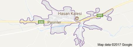 Pasinler Uydu Görüntüsü Uydu Haritası Erzurum