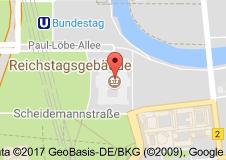 Reichstag Uydu Görüntüsü Uydu Haritası Almanya