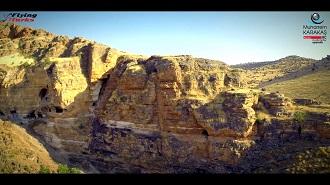 Süleyman Ağa Mağaraları Havadan Kamera İzle Diyarbakır