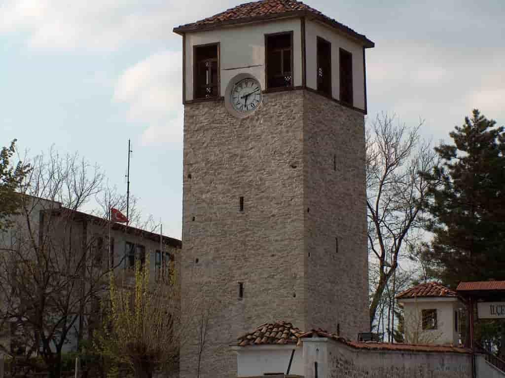 Safranbolu Tarihi Saat Kulesi Uydu Görüntüsü Karabük