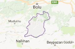 Seben Uydu Görüntüsü Uydu Harita Bolu