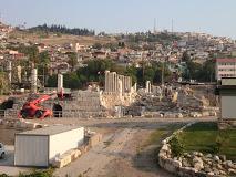Smyrna Agora Antik Kent Uydu Görüntüsü ve Haritası İzmir