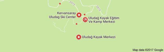 Uludağ Uydu Görüntüsü Uydu Haritası Bursa