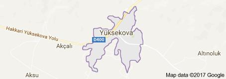 Yüksekova Uydu Görüntüsü Uydu Haritası Hakkari