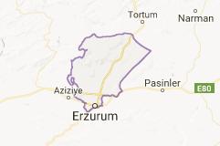 Yakutiye Uydu Görüntüsü Uydu Haritası Erzurum