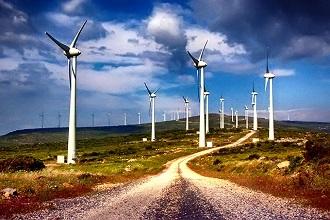 Bozcaada Rüzgar Gülleri Havadan Kamera İzle