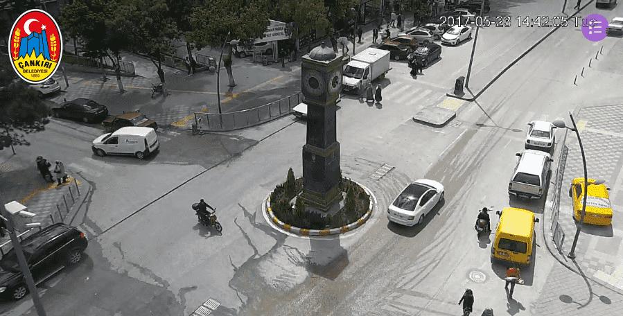 Çankırı Atatürk Bulvarı Canlı Mobese İzle