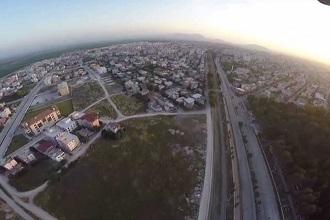 Adana Ceyhan Havadan Kamera Görüntüsü İzle