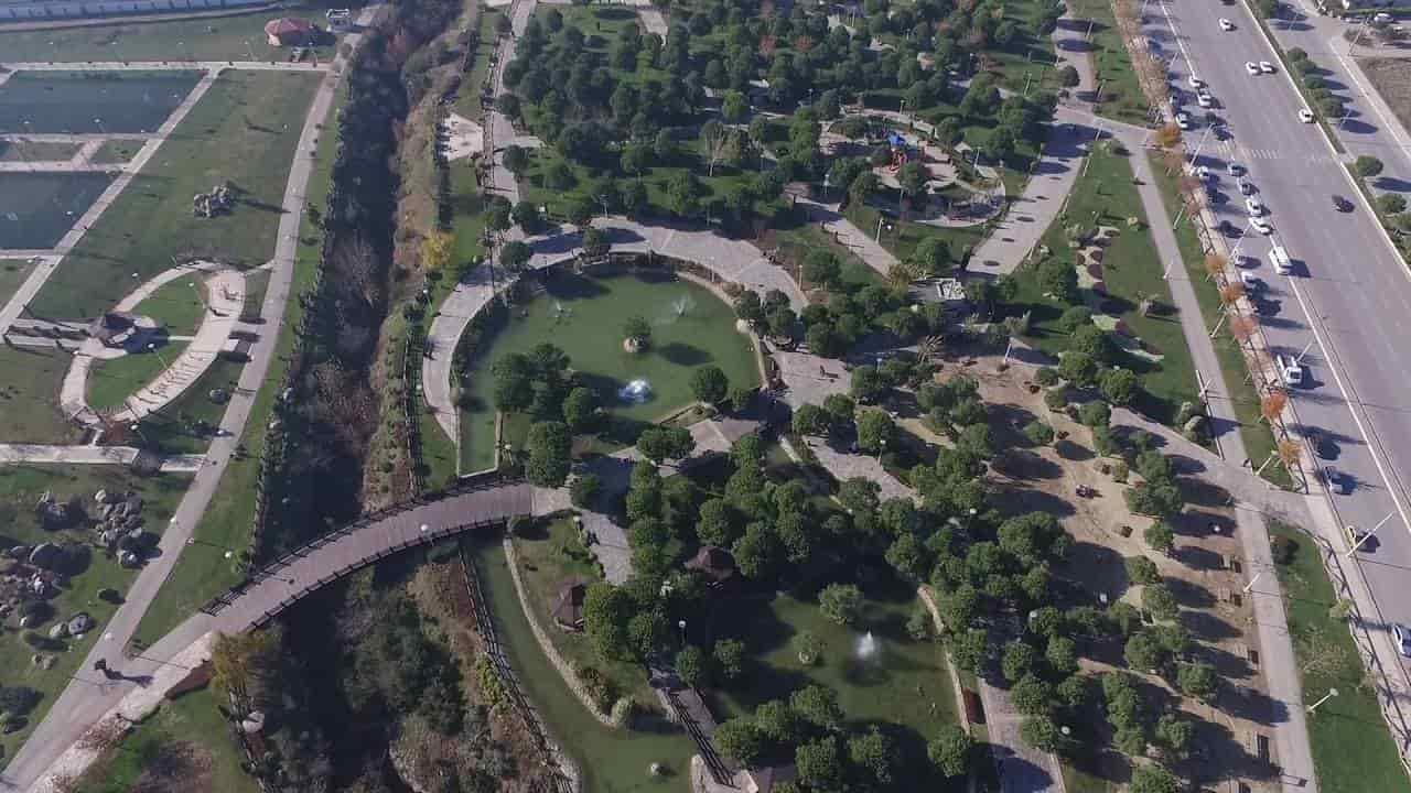 Denizli Adalet Parkı Hava Kamera Görüntüleri İzle