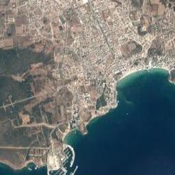Didim Altınkum Plajı Uydu Görüntüsü Uydu Haritası