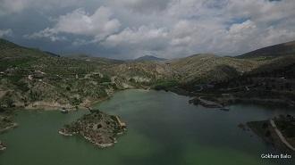 Konya Sille Gölü Havadan Kamera Görüntüsü İzle