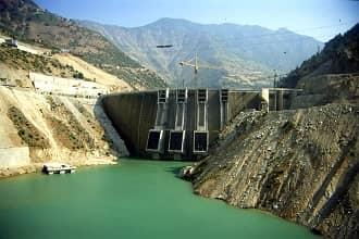 Sır Barajı Uydu Görüntüsü ve Haritası Kahramanmaraş