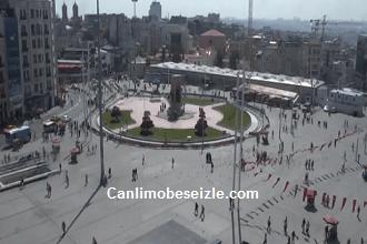 İstanbul Taksim Meydanı Canlı Mobese izle