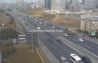 İstanbul Tem Mahmutbey Gişeleri Yönü canlı mobese izle