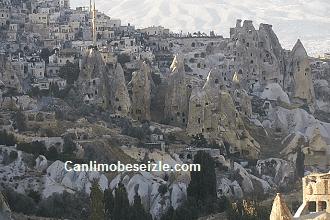 Kapadokya Uçhisar Kalesi Canlı izle