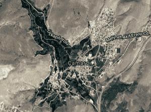 Niğde Çamardı Uydu Görüntüsü Haritası