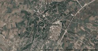 Kütahya Çavdarhisar Uydu Görüntüsü ve Haritası