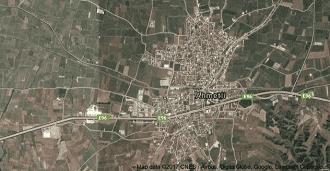 Manisa Ahmetli Uydu Görüntüsü ve Haritası