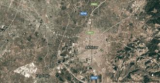 Manisa Akhisar Uydu Görüntüsü ve Haritası