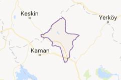 Kırşehir Akpınar Uydu Görüntüsü ve Haritası İzle