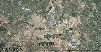 Manisa Alaşehir Uydu Görüntüsü Uydu Haritası