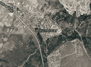 Niğde Altunhisar Uydu Görüntüsü Haritası