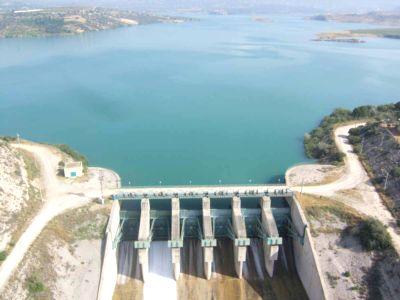 Mersin Tarsus Berdan Barajı Uydu Görüntüsü