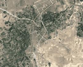 Niğde Bor Uydu Görüntüsü Haritası