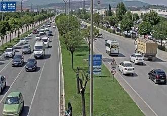 Bursa İstanbul Yolu Tofaş Önü Canlı Mobese İzle