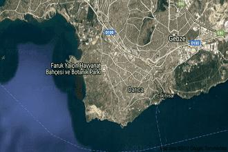 Kocaeli Darıca Uydu Görüntüsü ve Haritası İzle