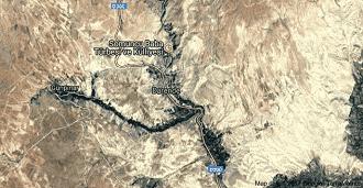 Malatya Darende Uydu Görüntüsü ve Haritası