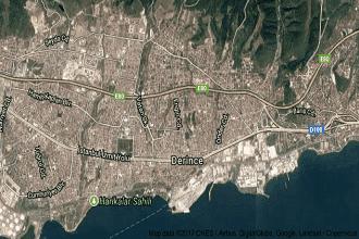 Kocaeli Derince Uydu Görüntüsü ve Haritası İzle