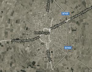 Nevşehir Derinkuyu Uydu Görüntüsü Haritası