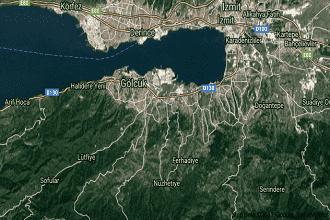 Kocaeli Gölcük Uydu Görüntüsü ve Haritası İzle