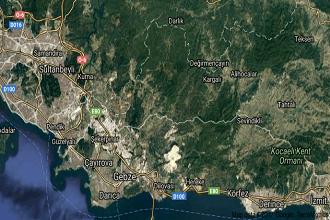 Kocaeli Gebze Uydu Görüntüsü ve Haritası İzle
