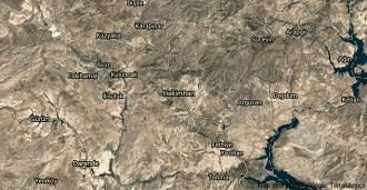 Malatya Hekimhan Uydu Görüntüsü ve Haritası