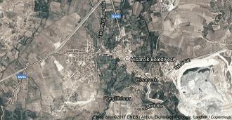 Kütahya Hisarcık Uydu Görüntüsü ve Haritası