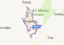 Kırşehir Uydu Görüntüsü ve Haritası İzle