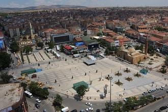 Kırşehir Cacabey Meydanı Uydu Görüntüsü ve Haritası İzle