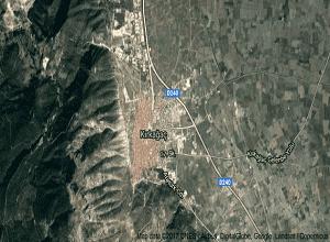 Manisa Kırkağaç Uydu Görüntüsü Haritası