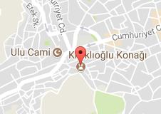 Kütahya Kızıklıoğlu Konağı Uydu Görüntüsü ve Haritası