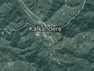 Rize Kalkandere Uydu Görüntüsü Haritası