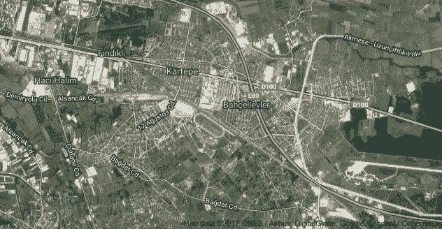 Kocaeli Kartepe Uydu Görüntüsü ve Haritası İzle