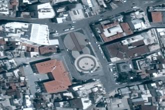 Kilis Cumhuriyet Meydanı Uydu Görüntüsü ve Haritası İzle