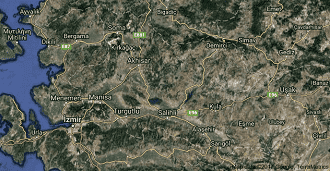 Manisa Uydu Görüntüsü ve Haritası