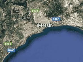 Mersin Uydu Görüntüsü Haritası