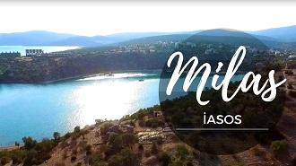 Muğla Milas İasos Antik Kenti Havadan Kamera İzle