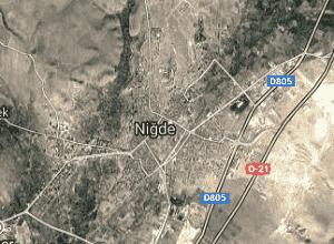 Niğde Uydu Görüntüsü Haritası