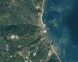 Ordu Perşembe Uydu Görüntüsü Haritası