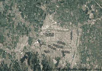 Manisa Salihli Uydu Görüntüsü Haritası